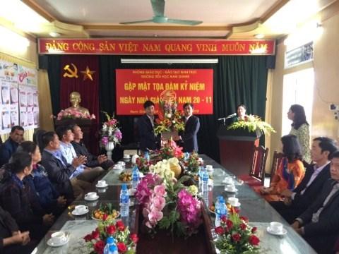 Các hoạt động chào mừng ngày nhà giáo Việt Nam 20/11/2019